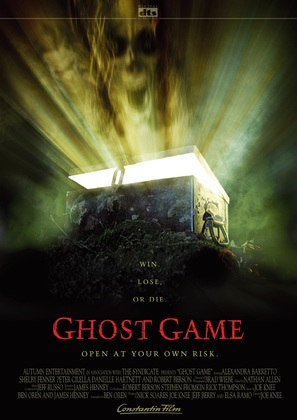 Ghost Game - Movie Poster (thumbnail)