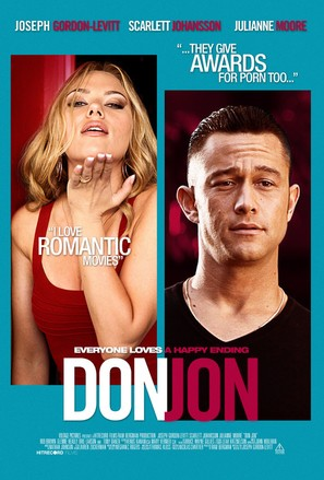 Don Jon - Danish Movie Poster (thumbnail)