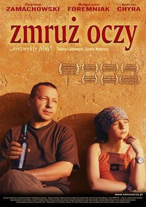 Zmruz oczy - Polish poster (thumbnail)