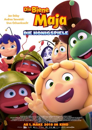 Maya the Bee: The Honey Games - German Movie Poster (thumbnail)