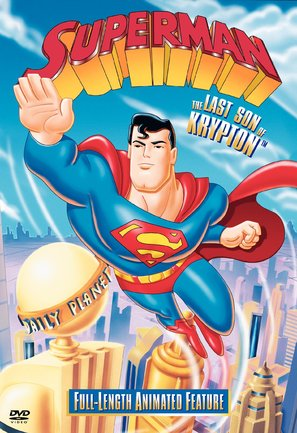 Superman: The Last Son of Krypton - DVD cover (thumbnail)