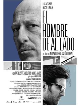 El hombre de al lado - Argentinian Movie Poster (thumbnail)