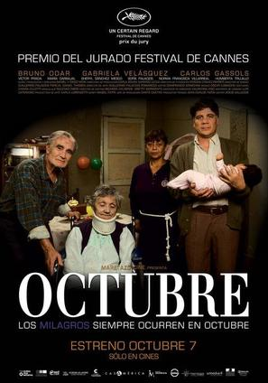 Octubre - Peruvian Movie Poster (thumbnail)