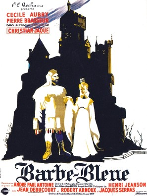 Barbe-Bleue - French Movie Poster (thumbnail)