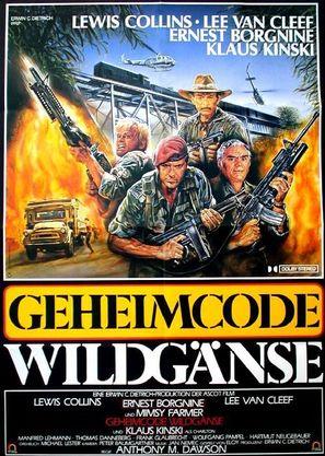 Geheimcode: Wildgänse - German Movie Poster (thumbnail)