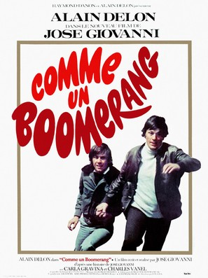 Comme un boomerang - French Movie Poster (thumbnail)