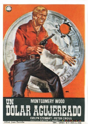 Un dollaro bucato - Spanish Movie Poster (thumbnail)