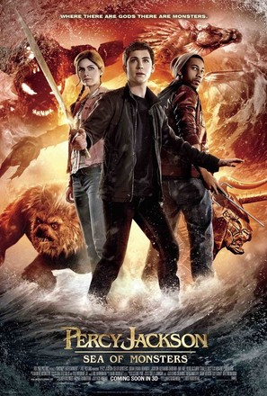 Percy Jackson: Sea of Monsters - Movie Poster (thumbnail)