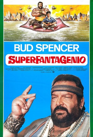 Superfantagenio - Italian Movie Poster (thumbnail)