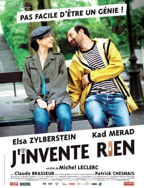 J'invente rien - French poster (thumbnail)
