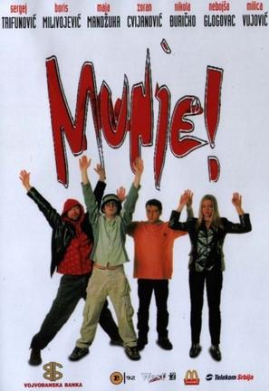 Munje! - Yugoslav Movie Poster (thumbnail)