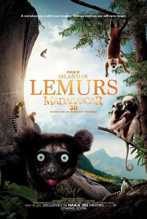 Island of Lemurs: Madagascar - Movie Poster (thumbnail)