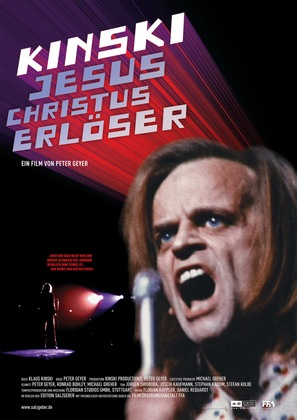 Jesus Christus Erlöser - German Movie Poster (thumbnail)
