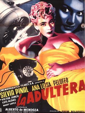 Adúltera, La - Mexican Movie Poster (thumbnail)