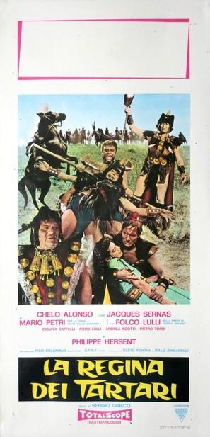 La regina dei tartari - Italian Movie Poster (thumbnail)