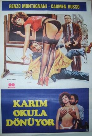 Mia moglie torna a scuola - Turkish Movie Poster (thumbnail)