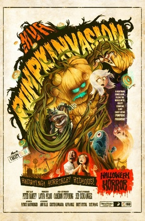 Monsters vs Aliens: Mutant Pumpkins from Outer Space - Movie Poster (thumbnail)