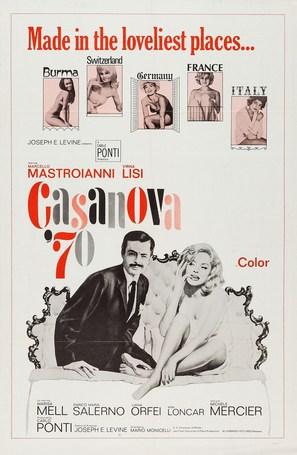 Casanova '70 - Movie Poster (thumbnail)
