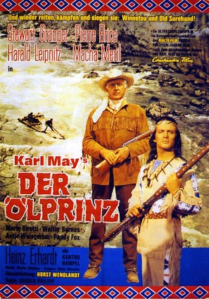 Der Ölprinz - German Movie Poster (thumbnail)