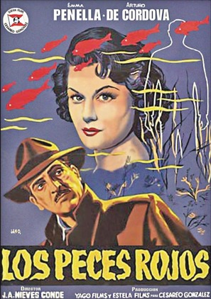 Los peces rojos - Spanish Movie Poster (thumbnail)