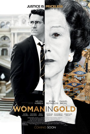 Woman in Gold - Theatrical movie poster (thumbnail)