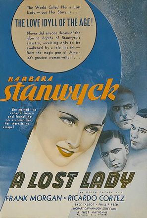 A Lost Lady - poster (thumbnail)