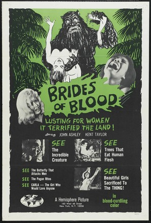 Brides of Blood - Movie Poster (thumbnail)