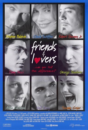 Friends & Lovers - Movie Poster (thumbnail)