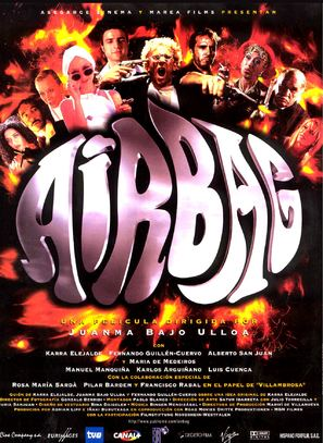 Airbag - Spanish Movie Poster (thumbnail)