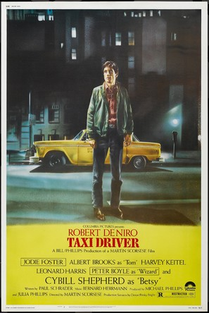 Taxi Driver - Movie Poster (thumbnail)