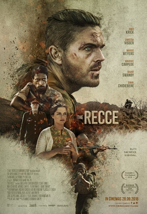 The Recce - South African Movie Poster (thumbnail)