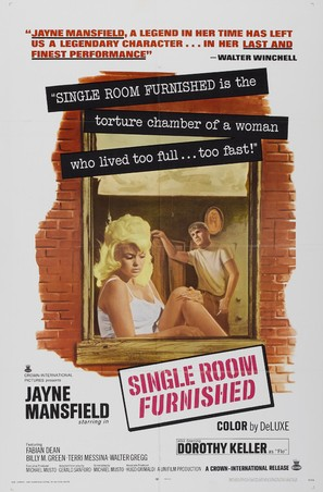 Single Room Furnished - Movie Poster (thumbnail)