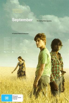 September - Australian DVD movie cover (thumbnail)