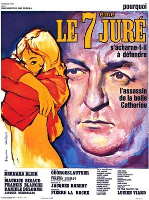 Septième juré, Le - French Movie Poster (thumbnail)