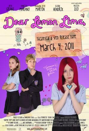 Dear Lemon Lima - Theatrical poster (thumbnail)