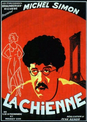 La chienne - French Movie Poster (thumbnail)