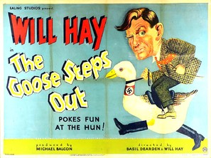 The Goose Steps Out - British Movie Poster (thumbnail)