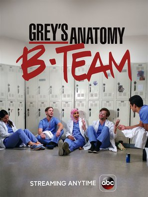 """Grey's Anatomy: B-Team"" - Movie Poster (thumbnail)"