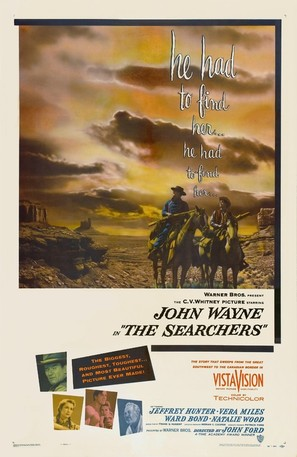 The Searchers - Movie Poster (thumbnail)