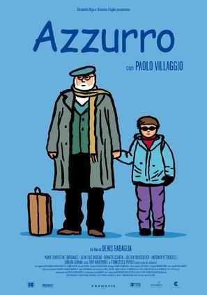 Azzurro - Italian Movie Poster (thumbnail)