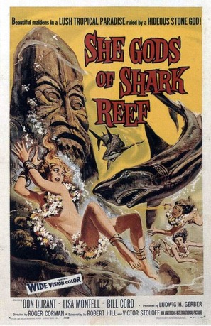 She Gods of Shark Reef - Movie Poster (thumbnail)