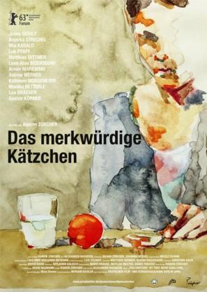 Das merkwürdige Kätzchen - German Movie Poster (thumbnail)