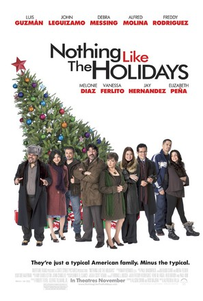 Nothing Like the Holidays - Movie Poster (thumbnail)