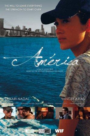 America - Puerto Rican Movie Poster (thumbnail)
