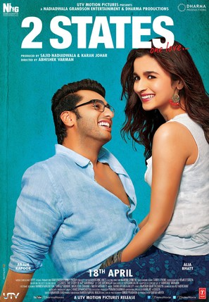 2 States - Indian Movie Poster (thumbnail)