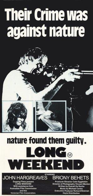 Long Weekend - Australian Movie Poster (thumbnail)