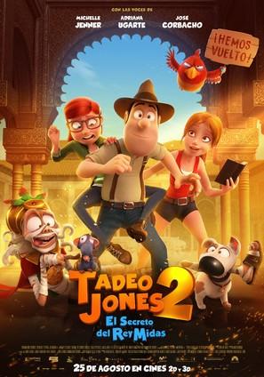 Tadeo Jones 2: El Secreto Del Rey Midas - Spanish Movie Poster (thumbnail)