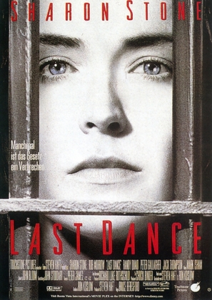 Last Dance - German Movie Poster (thumbnail)