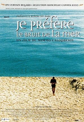 Preferisco il rumore del mare - French Movie Poster (thumbnail)
