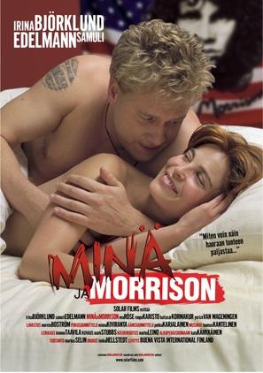 Minä ja Morrison - Finnish Movie Poster (thumbnail)